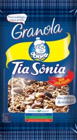 Granola Tia Sônia 1kg $25