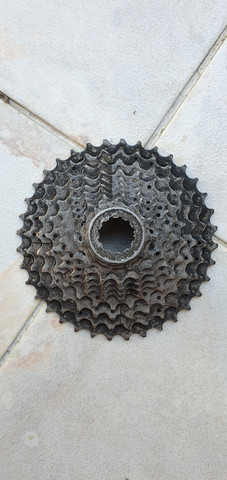 Vendo peças bike 10v - Foto 5