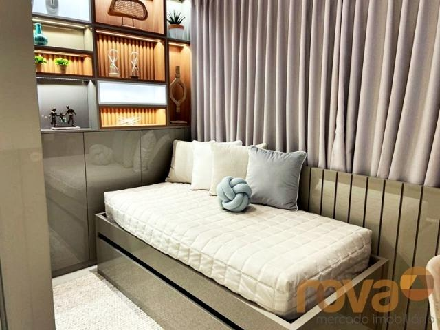 Apartamento à venda com 2 dormitórios em Setor bueno, Goiânia cod:NOV236000 - Foto 10