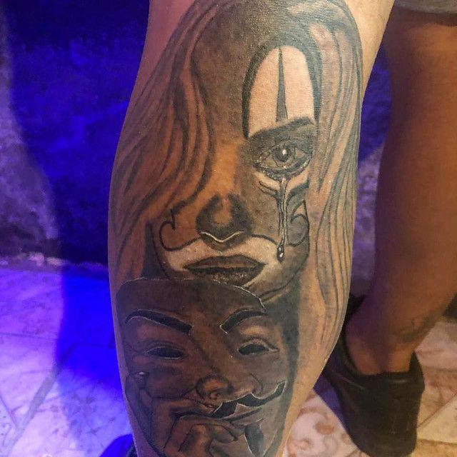 Faço tatuagem troco por celular,PC,tvs e games. - Foto 2