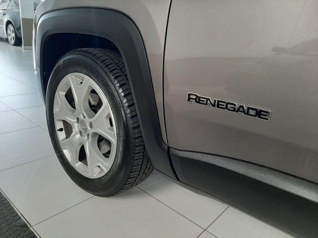 Jeep renegade automática limited 1.8 completo banco de couro único dono garantia fabrica - Foto 20