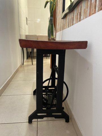 Aparador rústico com os pés de máquina - Foto 3