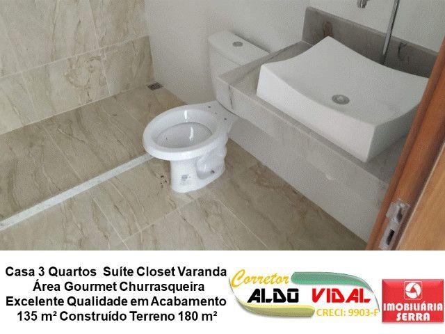 ARV 11. Casa 3 Quartos, Varanda, Suíte, Churrasqueira, Quintal Grande - Foto 13
