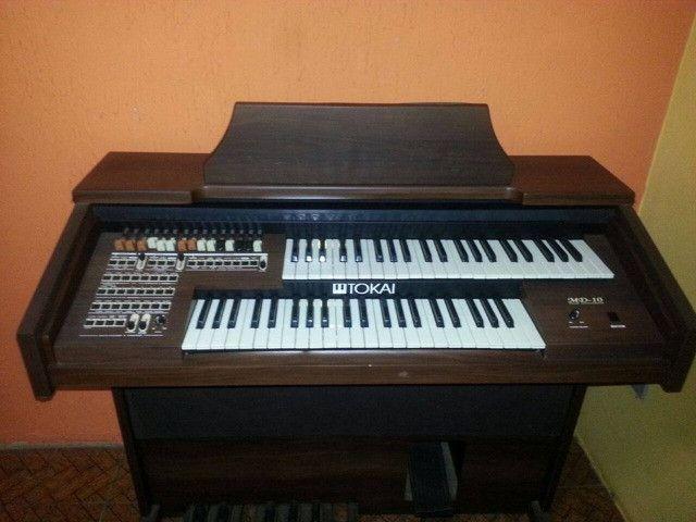 Órgão Tokai Md-10 Marrom