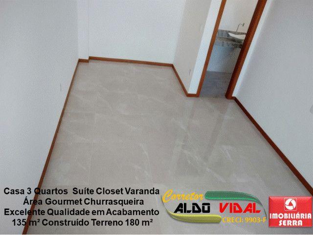ARV 11. Casa 3 Quartos, Varanda, Suíte, Churrasqueira, Quintal Grande - Foto 2