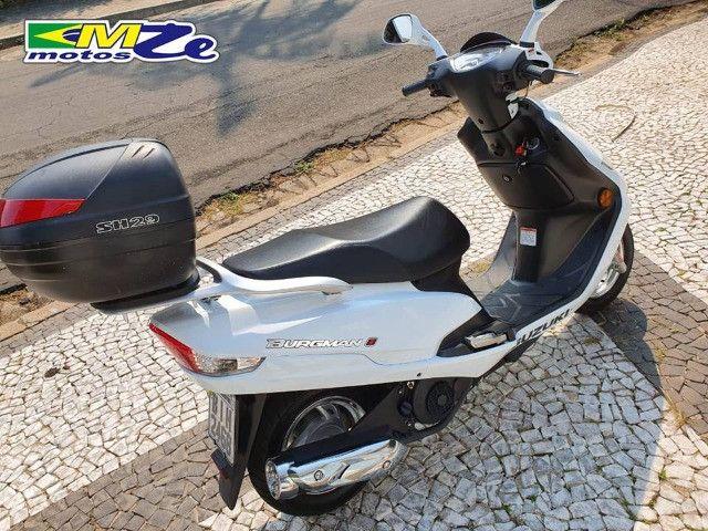 Suzuki Burgman I 125 2019 Branca com 800 km - Foto 3