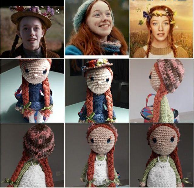 Boneca de crochê: +40 ideias com amigurumi fantásticas ... | 620x640
