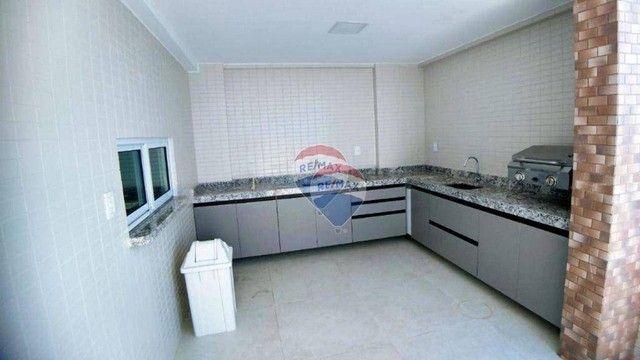 Apartamento com 3 dormitórios à venda, 101 m² por R$ 445.817,00 - Carapibus - Conde/PB - Foto 8