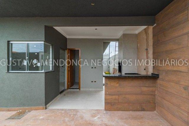 Linda casa nova no bairro Rita Vieira 1 - Alto padrão de acabamento e em excelente localiz - Foto 3