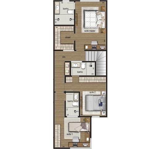 Casa duplex , 03 quartos, 04 vagas, 132,00 m², Bairro Itapoã. - Foto 7