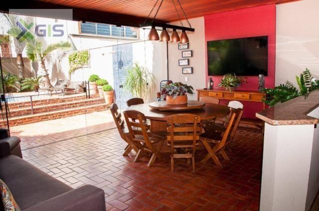 Imóvel Lindo. Casa com 4 dormitórios. Área Gourmet com piscina. Excelente Localização. - Foto 15