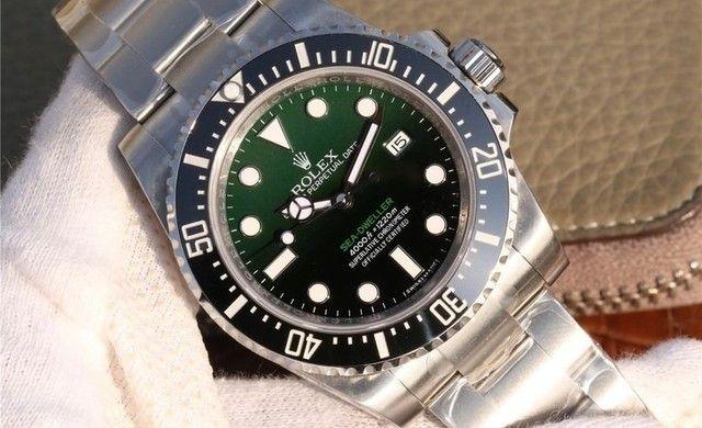 Rolex Sea-Dweller Deepsea 116660 D-Green Noob A2836 - Foto 2