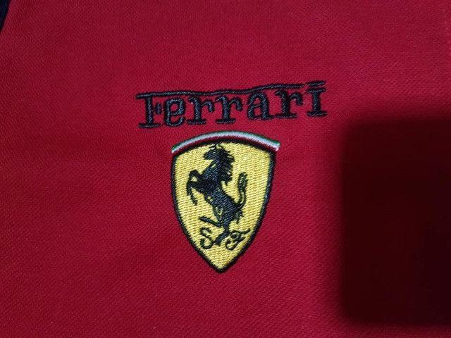 Camisa Polo Ferrari P - Foto 2