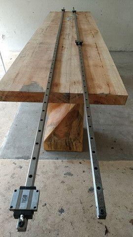 Guias Lineares 3 metros e meio Com 4 patins - Foto 2