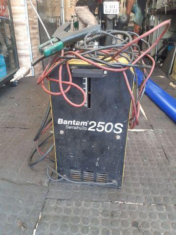 Maquina de solda Bantam 250S  - Foto 3