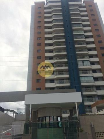 Apartamento a venda com 04 quartos, sendo 03 suítes, 02 vagas de garagem, Ponto Central, F
