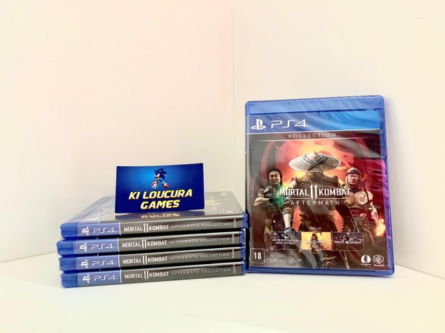 Mortal Kombat Aftermath Jogo PS4