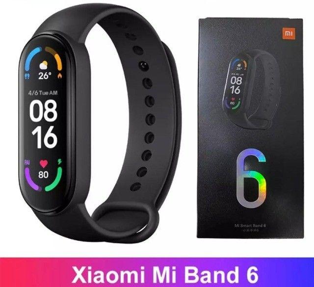Mi Band 6 Xiaomi Original. temos tb a Mi 5