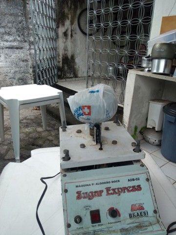 Venda máquina algodão doce - Foto 4