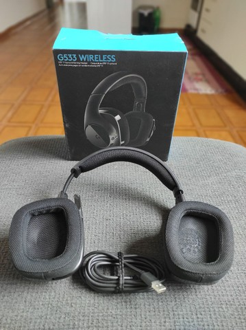 Hedset Logitech G533 Wireless Sem Fio - Foto 2