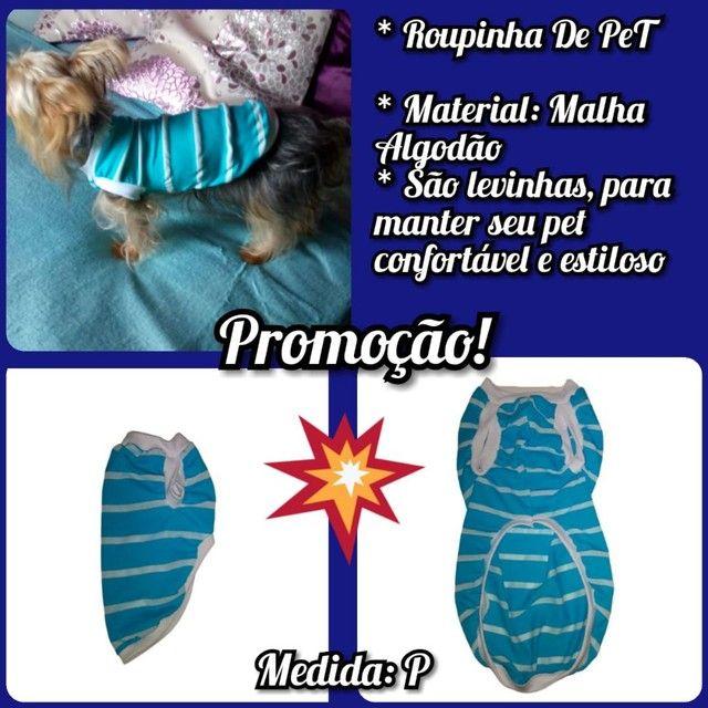 Roupa Pet Promoção imperdível! - Foto 2