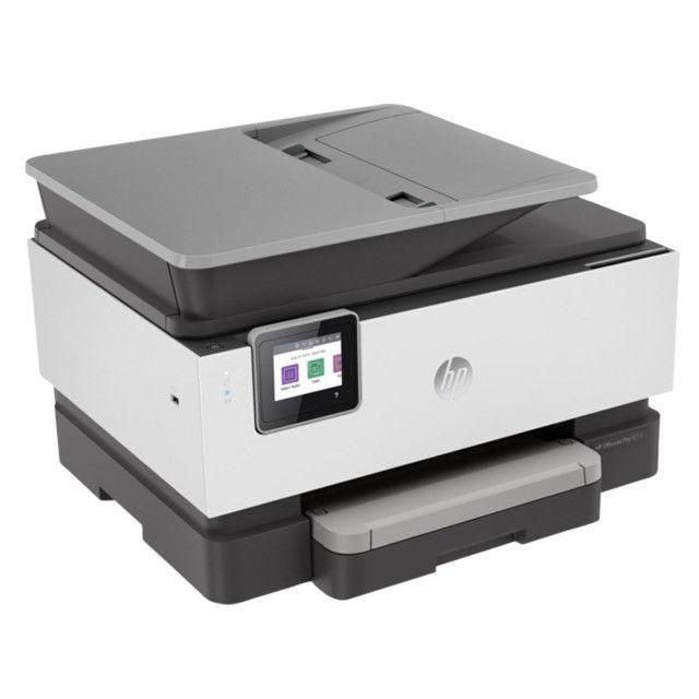 Impressora Multifuncional Colorida HP OfficeJet Pro 9010 (Novíssima) - Foto 4