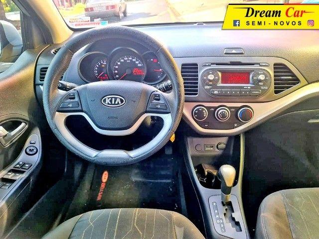 Kia Picanto 1.0 EX Flex 2012 Automático 60 Mil km - Foto 9