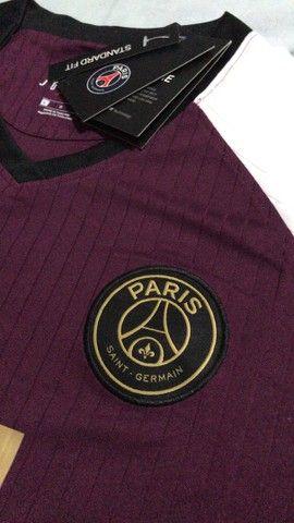 Camisa PSG tamanho G  - Foto 3