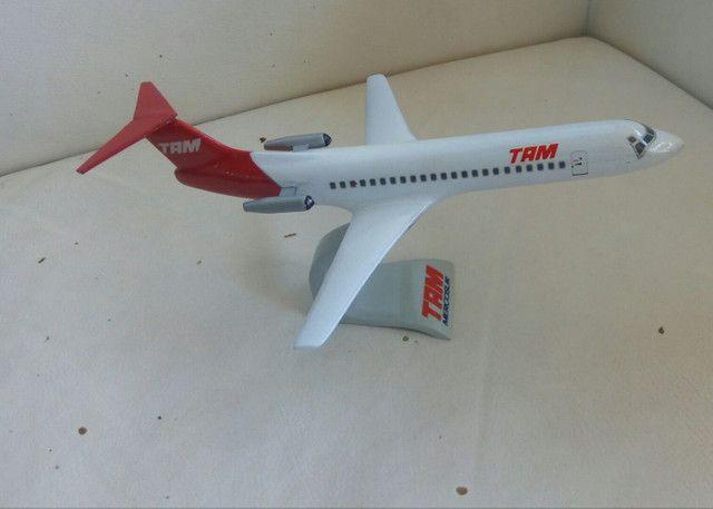 Maquete do Fokker 100 TAM - Foto 6