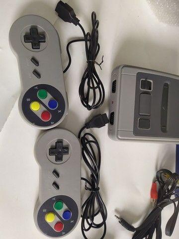 video game console novo completo mini super classic 621 jogos memoria 8bits - Foto 2