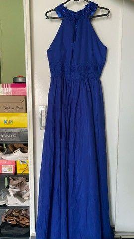 Vestido de festa /  vestido de madrinha azul - Foto 2