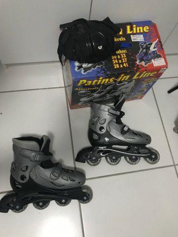 Vendo patins in line - Foto 2