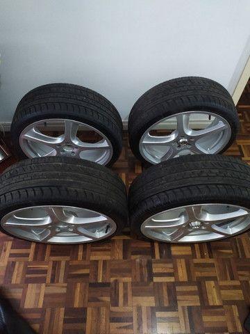 Rodas aro 20 com pneus novos!!!