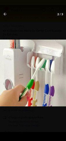Dispensor pasta de dente - Foto 2