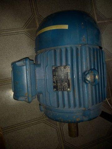 Motor Trifásico 10CV 3600RPM 220/380/440V WEG 2Pólos - Foto 2
