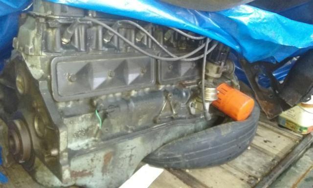 Motor e caixa de macha de 6cc opala