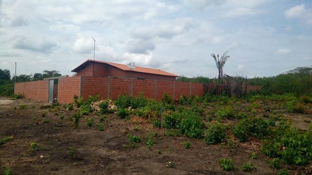 Casa (mini chácara) 3 quartos terreno murado 24x42 em Monsenhor Gil. 50 mil