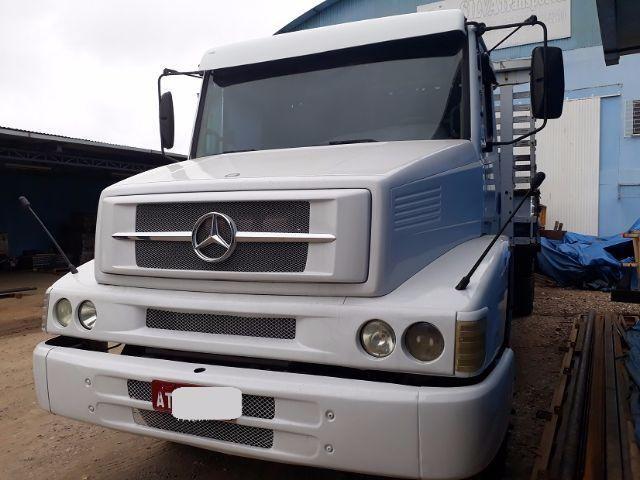 M.benz 1418 6x2 truck carroceria