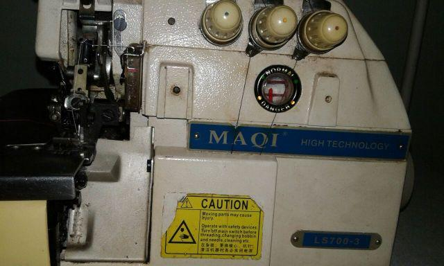 Máquina De Costura *overloque* Industrial High Tecnology