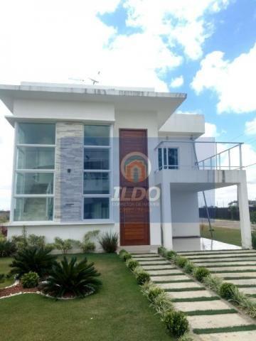Chamativa e elegante casa no Condomínio Águas da Serra em Bananeiras
