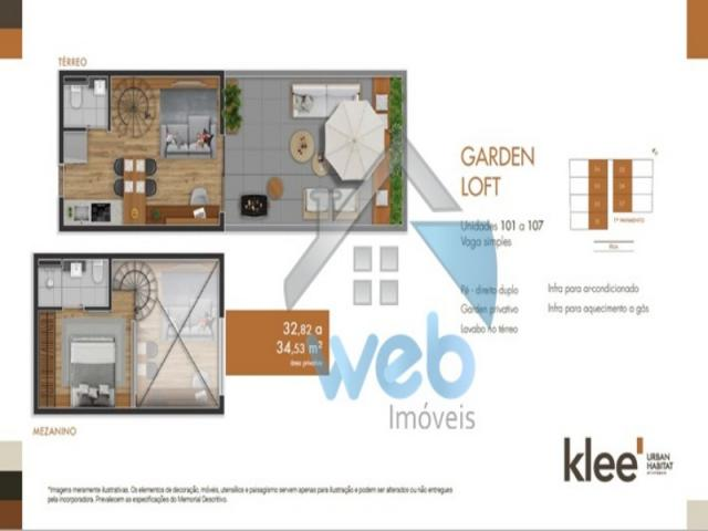Apartamento, planta, ecoville, financiamento - Foto 18