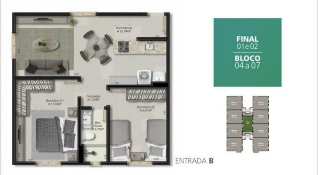 Apartamento a 5 Minutos do Centro - Foto 4