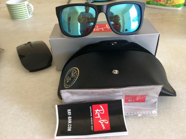 b258671ff Ray ban Justin - lente espelhada -Original - Bijouterias, relógios e ...