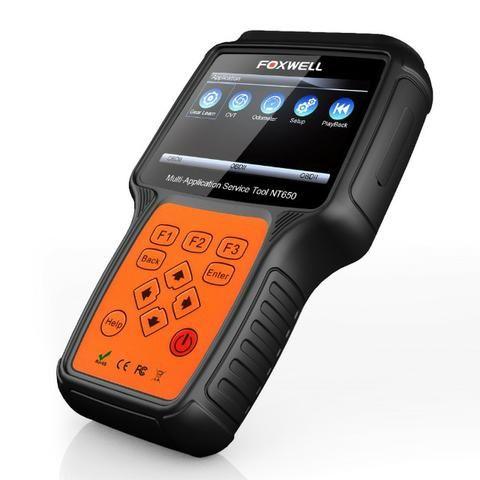 Foxwell Nt650 obd2 Automotive Scanner Diagnósticos Avançados