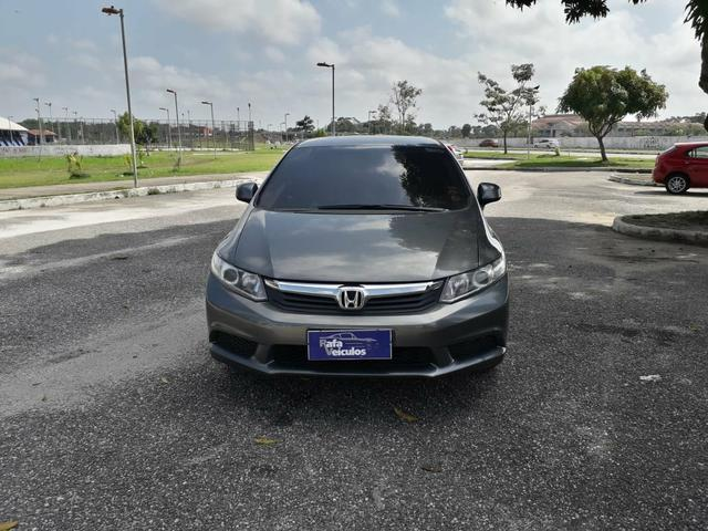Honda civic lxs 1.8 at 2014 r$ 49.900,00. só na rafa veículos, consultor eric * - Foto 3
