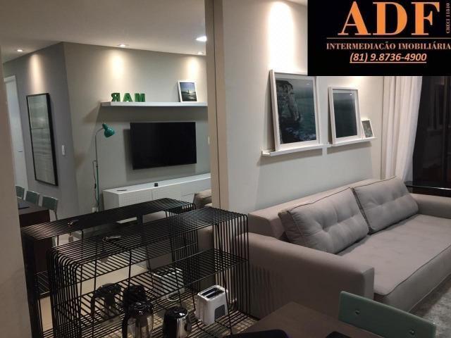 CA - Apartamento decorado e mobiliado no Oka Beach Residence