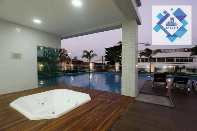 Apartamento com 3 dormitórios à venda, 72 m² por R$ 460.000,00 - Guararapes - Fortaleza/CE - Foto 17