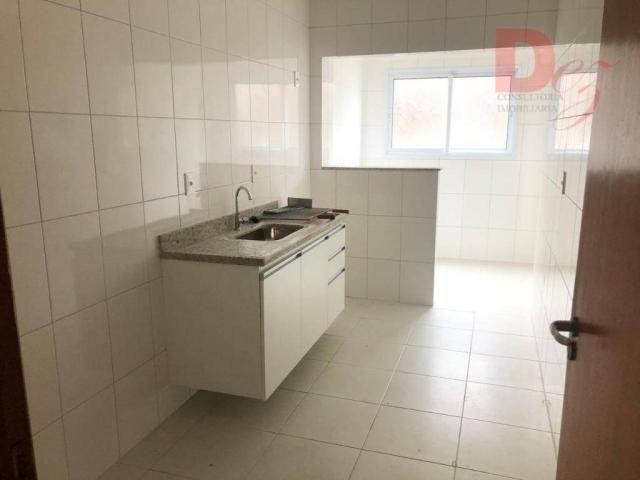 Apartamento com 2 dormitórios para alugar, 92 m² por r$ 2.200/mês - vila guilhermina - pra - Foto 7