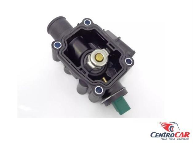 Carcaça Com Válvula Termostática Sensor Citroen C3 Xsara Peugeot 206 207 307 1.6 16v 2006. - Foto 2
