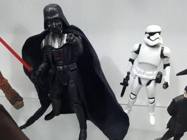 Darth Vader e stormtroper